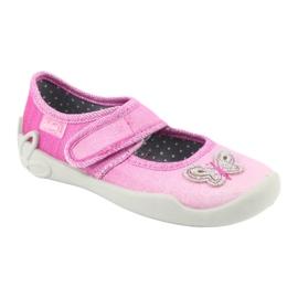Pantofi pentru copii Befado 123X038 roz 2