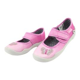 Pantofi pentru copii Befado 123X038 roz 4
