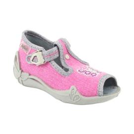 Încălțăminte pentru copii Befado 213P111 roz gri 2