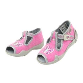 Încălțăminte pentru copii Befado 213P111 roz gri 4