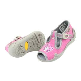 Încălțăminte pentru copii Befado 213P111 roz gri 6