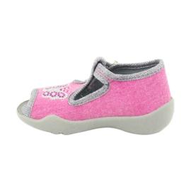 Încălțăminte pentru copii Befado 213P111 roz gri 3