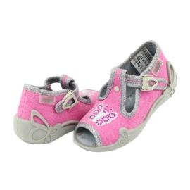 Încălțăminte pentru copii Befado 213P111 roz gri 5
