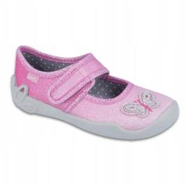 Pantofi pentru copii Befado 123X038 roz 1