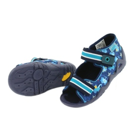 Încălțăminte pentru copii Befado 250P090 albastru marin albastru multicolor 7