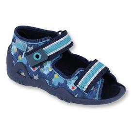 Încălțăminte pentru copii Befado 250P090 albastru marin albastru multicolor 1