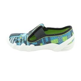 Încălțăminte pentru copii Befado 290X192 albastru gri multicolor verde 4