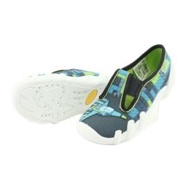 Încălțăminte pentru copii Befado 290X192 albastru gri multicolor verde 7