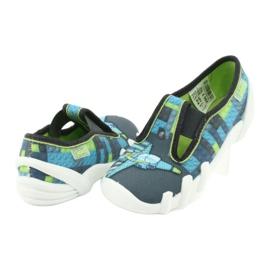 Încălțăminte pentru copii Befado 290X192 albastru gri verde 4