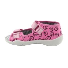 Încălțăminte pentru copii Befado 242P103 roz gri 3
