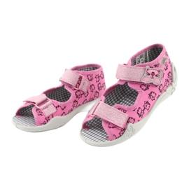 Încălțăminte pentru copii Befado 242P103 roz gri 5