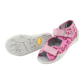 Încălțăminte pentru copii Befado 242P103 roz gri 7