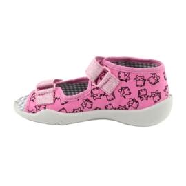 Încălțăminte pentru copii Befado 242P103 roz gri 4
