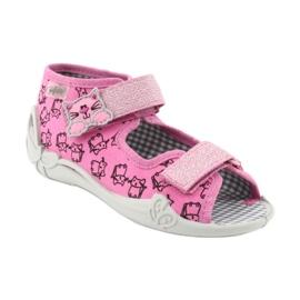 Încălțăminte pentru copii Befado 242P103 roz gri 2