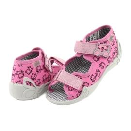 Încălțăminte pentru copii Befado 242P103 roz gri 6