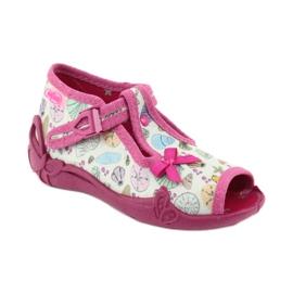 Încălțăminte pentru copii Befado 213P117 roz multicolor 2