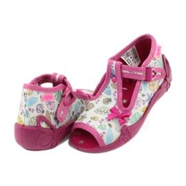 Încălțăminte pentru copii Befado 213P117 roz multicolor 5