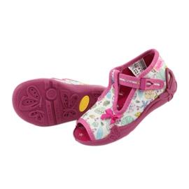 Încălțăminte pentru copii Befado 213P117 roz multicolor 6