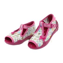 Încălțăminte pentru copii Befado 213P117 roz multicolor 4