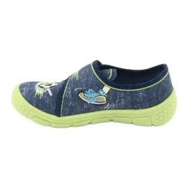 Încălțăminte pentru copii Befado 557P138 albastru marin verde 3