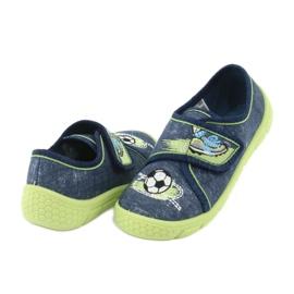 Încălțăminte pentru copii Befado 557P138 albastru marin verde 5
