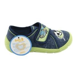 Încălțăminte pentru copii Befado 557P138 albastru marin verde 7