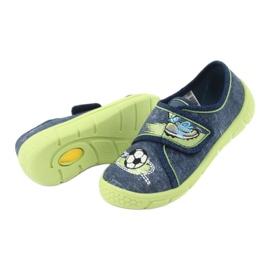 Încălțăminte pentru copii Befado 557P138 albastru marin verde 6