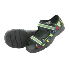 Pantofi pentru copii Befado 969X140 roșu albastru gri verde galben 5