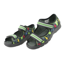 Pantofi pentru copii Befado 969X140 roșu albastru gri verde galben 3