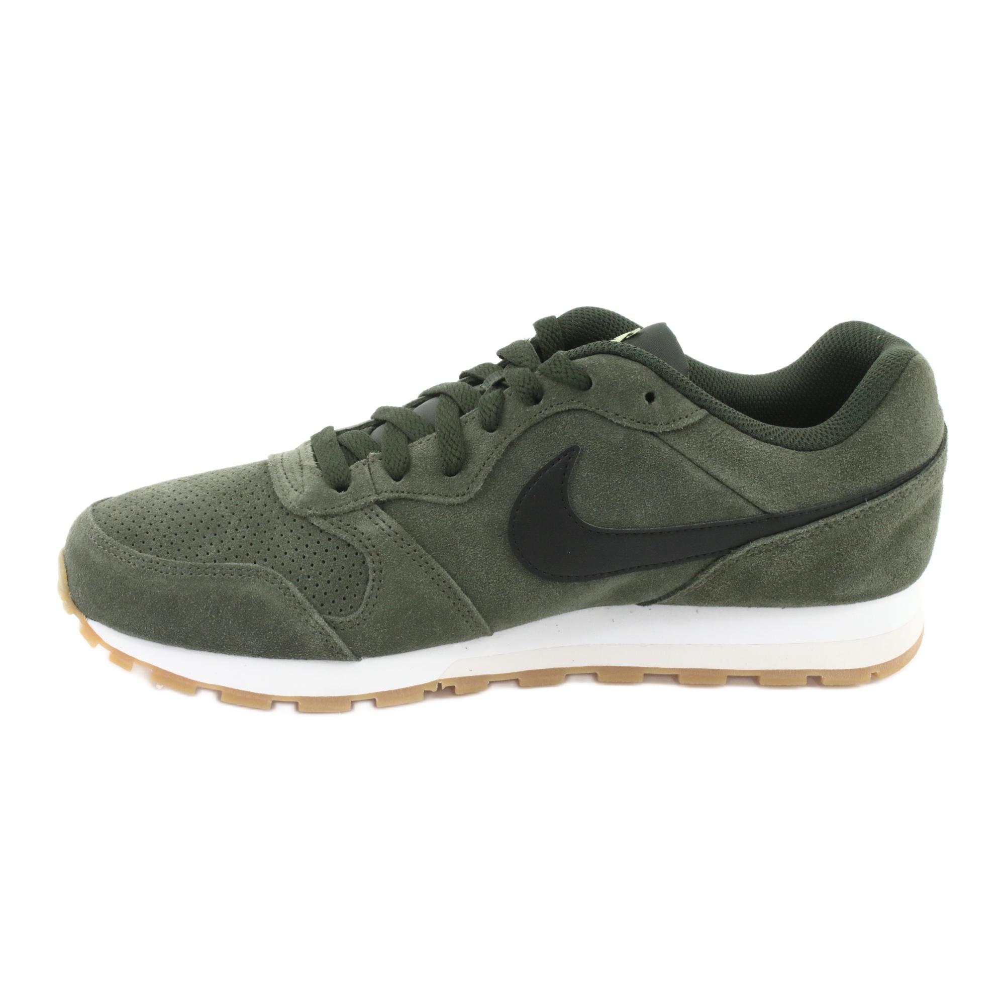 Pronombre captura Fraude  Pantofi Nike Md Runner 2 Suede M AQ9211-300 kaki - ButyModne.pl