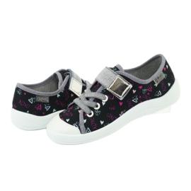 Încălțăminte pentru copii Befado 251Y142 negru roz gri 4
