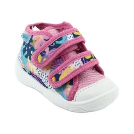 Pantofi pentru copii Befado portocalii 212P064 roz multicolor 2