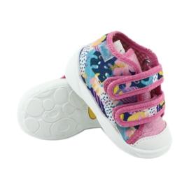 Pantofi pentru copii Befado portocalii 212P064 roz multicolor 4