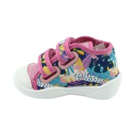 Pantofi pentru copii Befado portocalii 212P064 roz multicolor 3