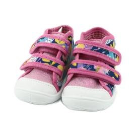 Pantofi pentru copii Befado portocalii 212P064 roz multicolor 5
