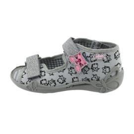Încălțăminte pentru copii Befado 242P102 roz gri 1