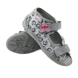 Încălțăminte pentru copii Befado 242P102 roz gri 4