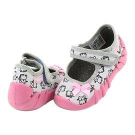 Încălțăminte pentru copii Befado 109P198 roz gri 5