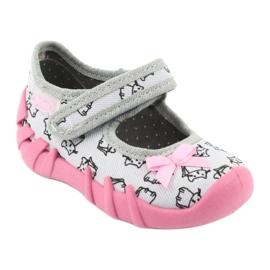Încălțăminte pentru copii Befado 109P198 roz gri 2