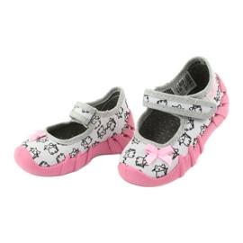 Încălțăminte pentru copii Befado 109P198 roz gri 4