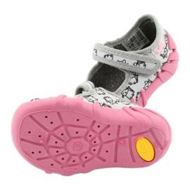 Încălțăminte pentru copii Befado 109P198 roz gri 6