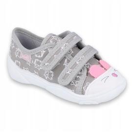 Încălțăminte pentru copii Befado 907P116 roz gri 1