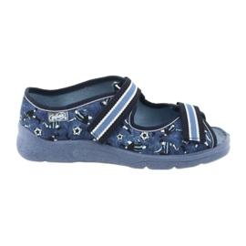 Încălțăminte pentru copii Befado 969Y141 albastru marin albastru 1