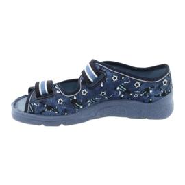 Încălțăminte pentru copii Befado 969Y141 albastru marin albastru 3