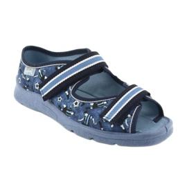 Încălțăminte pentru copii Befado 969Y141 alb albastru marin albastru 1