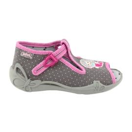Încălțăminte pentru copii Befado 213P114 roz gri 1