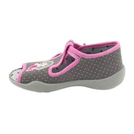 Încălțăminte pentru copii Befado 213P114 roz gri 3