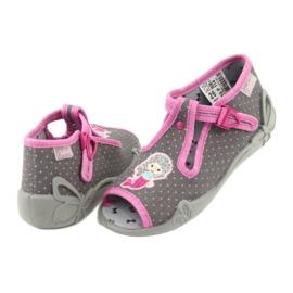 Încălțăminte pentru copii Befado 213P114 roz gri 5