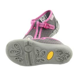 Încălțăminte pentru copii Befado 213P114 roz gri 6