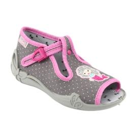 Încălțăminte pentru copii Befado 213P114 roz gri 2